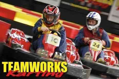 Teamworks Karting - 30 Minute Racing Session - Save 50%