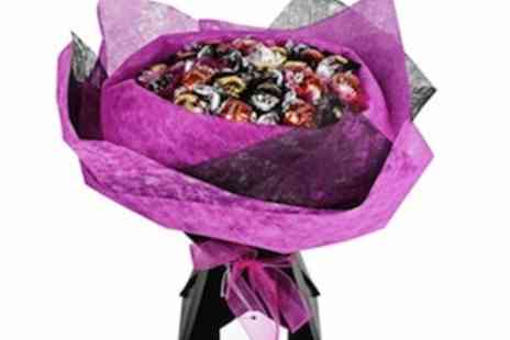 The Flower Stork - Chocolate bouquets as seen in Harrods - Save 50%