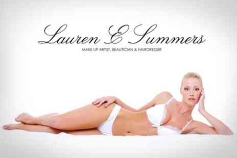Lauren E Summers - IPL Hair Removal Six Sessions For One Large Areas - Save 76%