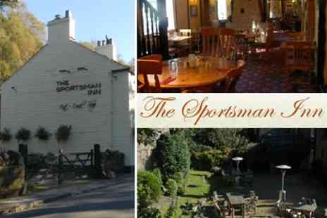 The Sportsman Inn - In Peak District Two Night Stay For Two With Two Course Dinner and Breakfast - Save 44%