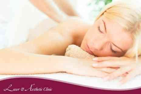 Laser & Aesthetic Clinic - Back, Neck and Shoulder Massage Plus Manicure - Save 56%