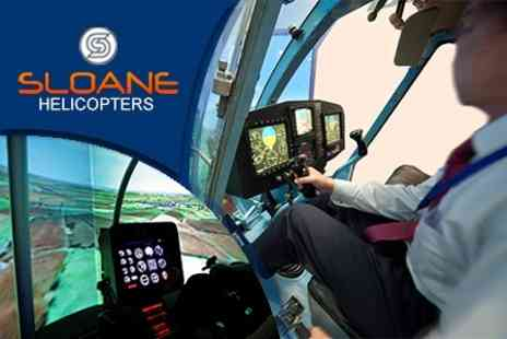 Sloane Helicopters - Simulator Flight Experience - Save 56%
