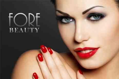 Fore Beauty - OPI Manicure or Pedicure Plus Choice of Facial - Save 65%