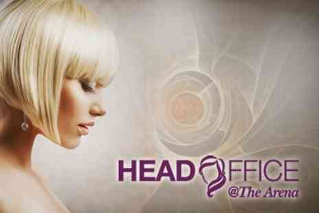 Head Office Barry - Restyle Cut and Blow Dry With Half Head Highlights - Save 61%