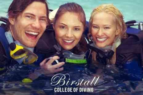 Birstall College of Diving - Birstall College of Diving Two Day PADI Open Water Referral Course With Lessons - Save 51%
