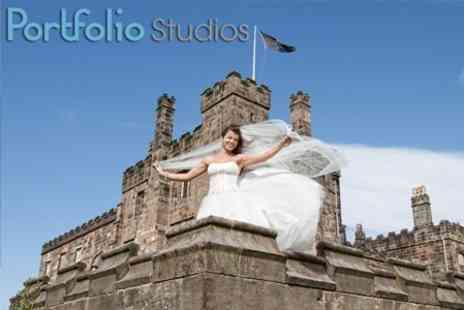 Portfolio Studios - Wedding Photography Package With Image DVD Plus Pre Post Wedding Shoot - Save 57%