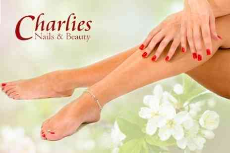 Charlies Nails & Beauty - Shellac For Fingers or Toes - Save 52%