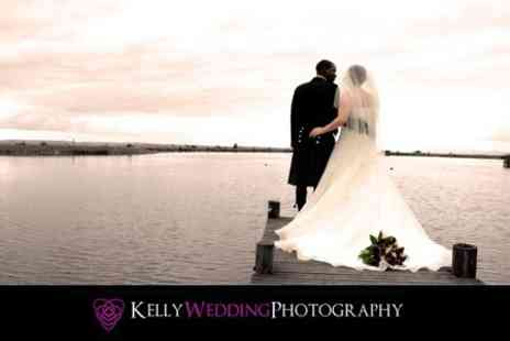 Kelly Wedding Photography - Wedding Photography Package With Digital Images and DVD Slideshow - Save 44%