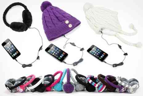 Kitsound - KitSound Audio Ear Muffs  With Free Delivery - Save 50%