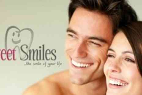 Sweet Smiles - Two Porcelain Crowns With Full Dental Examination - Save 58%