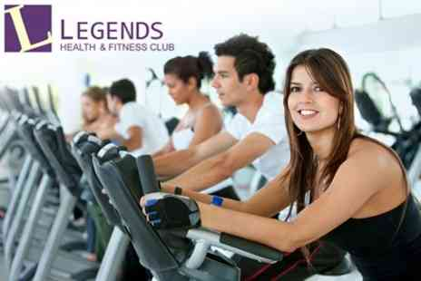 Legends Health - One Months Gym Membership - Save 57%
