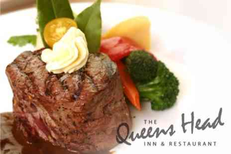 The Queens Head - Two Course Gastropub Meal For Two - Save 65%