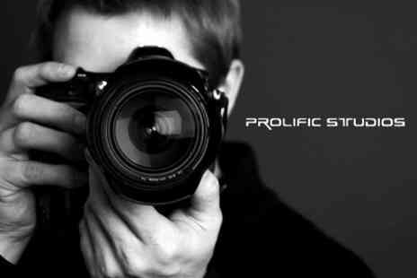 Prolific Productions - Half Day Beginners Photography Workshop - Save 84%