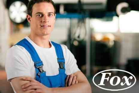 Fox Garage Services - 54 Point Car Service With Oil Change  - Save 70%