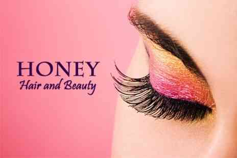 Honey Hair and Beauty - Full Nouveau Eyelash Extensions and Tint Synthetic Set - Save 70%