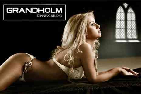 Grandholm Tanning Studio - Spray Tan One Session - Save 70%