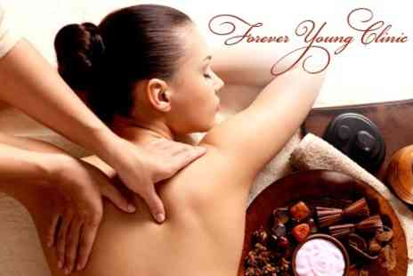 Forever Young - Back, Neck and Shoulder Massage Plus Express Facial - Save 48%