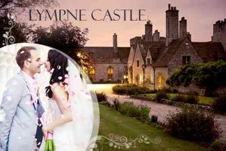 Lympne Castle Enterprises - Wedding Package Venue Hire For 50 Guests, Wedding Breakfast and Reception Drinks - Save 65%