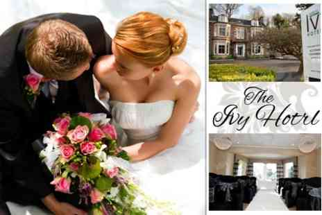 The Ivy Hotel - Wedding Day Package For 80 Guests With Three Course Meal, Bubbly, Evening Buffet and DJ - Save 50%