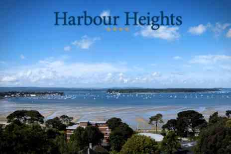 Harbour Heights Hotel - In Sandbanks 4star Stay For Two With Spa Access and Wine - Save 49%