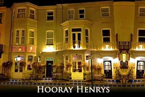 Hooray Henrys - In Great Yarmouth Stay For Two With Cream Tea and Breakfast - Save 54%