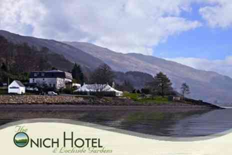 Onich Hotel - In Highlands Coast One Night Stay For Two With Breakfast - Save 59%