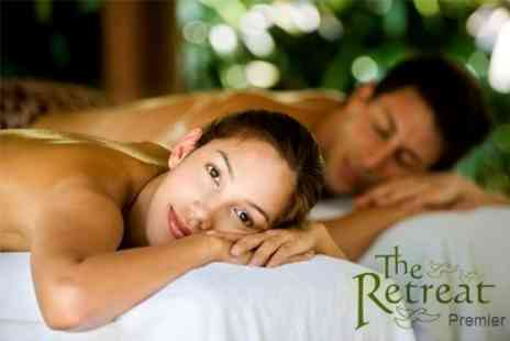 The Retreat - Spa Day For Two With Signature Back Massage and Glass Of Bubbly - Save 66%