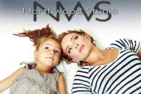 Northwood Studio - Mother Photoshoot With MAC Makeover and Mini Facial Plus Prints - Save 97%