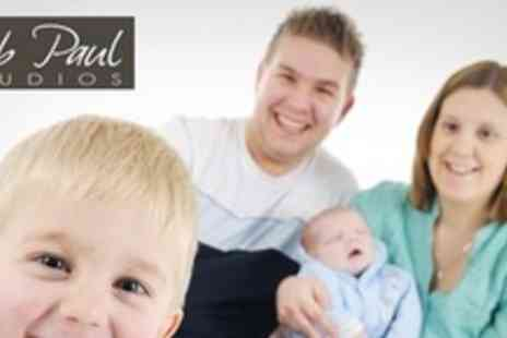 Rob Paul Studios - One Hour Photo Shoot With 20 x16 Board Mounted Print - Save 95%
