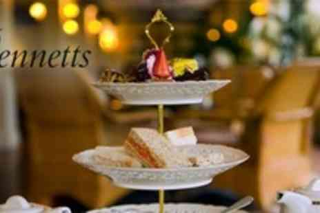 Bennetts - Traditional Afternoon Tea For Two With Homemade Cakes - Save 60%