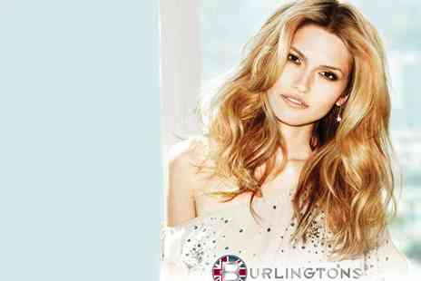 Burlingtons - Half Head of Highlights Wash Cut Blow Dry - Save 53%