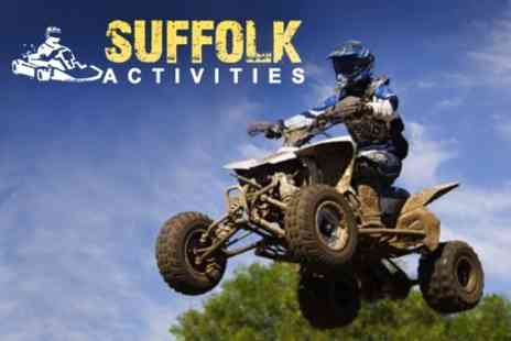 Suffolk Activities - Quad Biking Experience For One - Save 50%