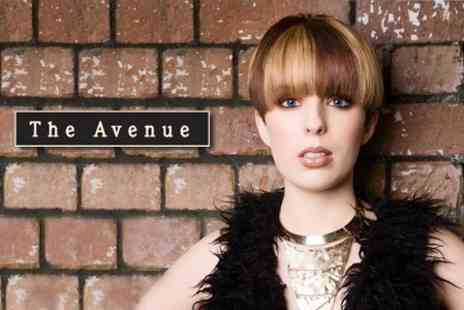 The Avenue - Womens Cut and Finish With Lanza Conditioning Treatment - Save 64%