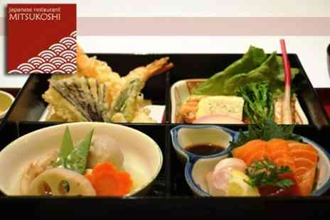 Mitsukoshi Restaurant - Worth of Japanese Food and Drink - Save 50%