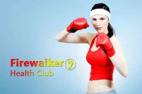 Firewalker Health Club - Ten Gym Passes With Class Access For One - Save 50%