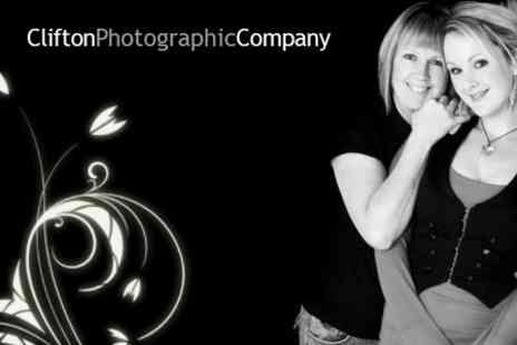 Clifton Photographic Company - Mother and Daughter Photoshoot With Makeover and Print Each - Save 86%