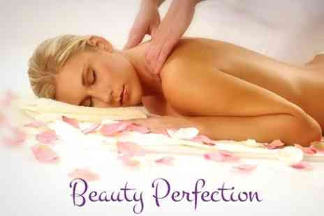 Beauty Perfection - Massage and Arbonne Facial - Save 68%
