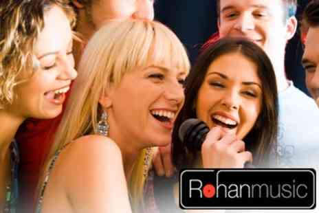 RohanMusic - Pop Star Studio Experience With CD For Up to Four - Save 79%