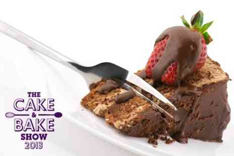 The Cake and Bake Show - The Cake and Bake Show 2013 Ticket For One Child - Save 36%