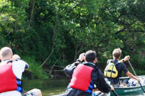 Wye Canoes - Canoeing and Bushcraft Day for One - Save 61%