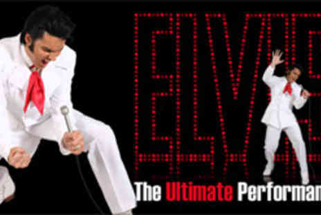 See Tickets - Top price tickets for Elvis The Ultimate Performance - Save 50%