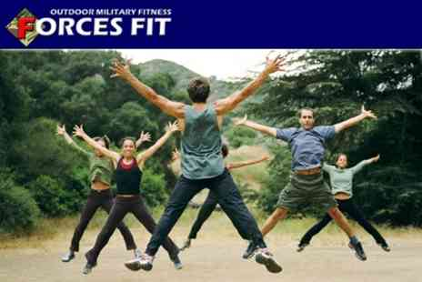 Forces Fit - Ten Boot Camp Sessions - Save 88%