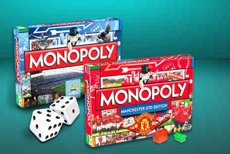 Winning Moves - Manchester Utd or Manchester City Monopoly set - Save 23%