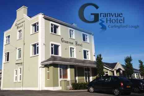 Granvue Hotel - In Carlingford Lough One Night Stay For Two With Wine and Breakfast - Save 50%