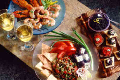 Istanbul BBQ & Bistro - Turkish Mezze Meal for Two with Wine - Save 50%