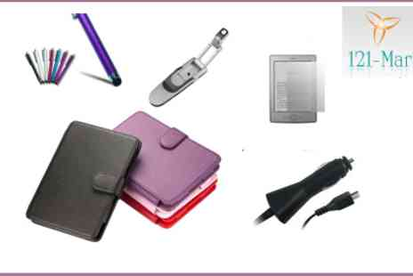 121 Mart - Rock Youre Kindle with This Kindle Accessory Pack - Save 59%
