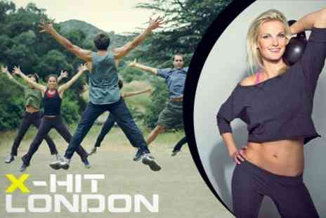 X Hit London - Ten High Intensity Training Sessions - Save 72%