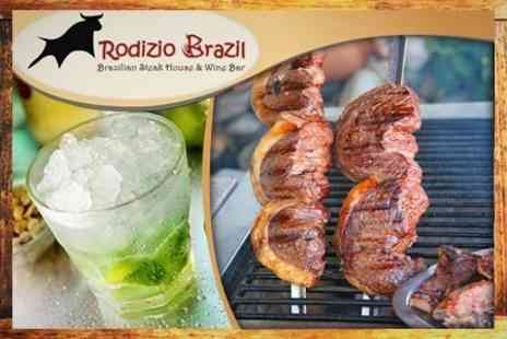Rodizio Brazil Clapham - All-You-Can-Eat Brazilian BBQ With Meats, Salad, Dessert and Cocktail - Save 61%
