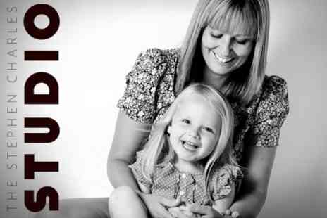 The Stephen Charles Studio - Mother and Daughter Photoshoot With Print - Save 53%