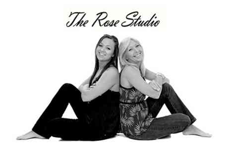 The Rose Studio - Mother and Daughter Photoshoot With Two Prints and Chocolates - Save 78%